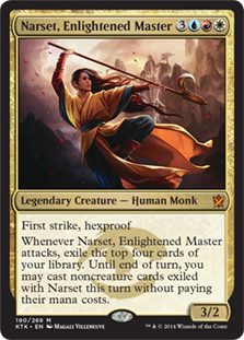 Narset, Enlightened Master Magic Card
