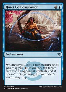 Quiet Contemplation Magic Card