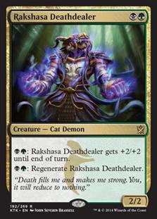 Rakshasa Deathdealer Magic Card