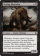 Rotting Mastodon Magic Card Image