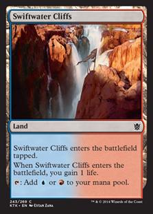 Swiftwater Cliffs Magic Card