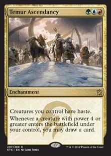 Temur Ascendancy Magic Card