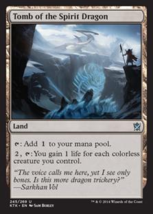Tomb of the Spirit Dragon Magic Card
