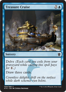 Treasure Cruise Magic Card