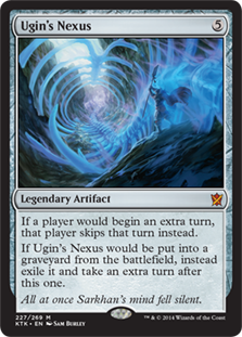 Ugin's Nexus Magic Card