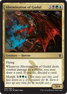 Abomination of Gudul Magic Card