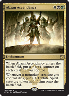 Abzan Ascendancy Magic Card