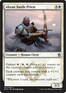 Abzan Battle Priest Magic Card
