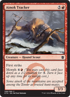 Ainok Tracker Magic Card