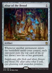 Altar of the Brood Magic Card