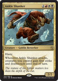 Ankle Shanker Magic Card