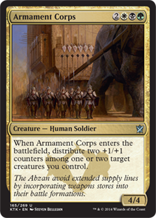 Armament Corps Magic Card