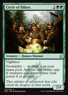 Circle of Elders Magic Card