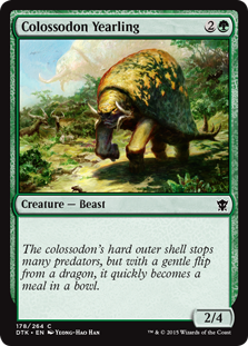 Colossodon Yearling Magic Card