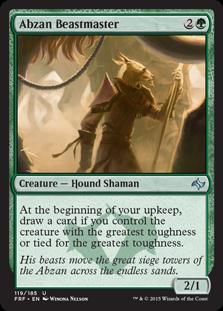Abzan Beastmaster Magic Card