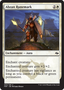 Abzan Runemark Magic Card