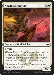 Abzan Skycaptain Magic Card