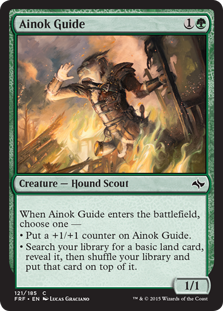 Ainok Guide Magic Card