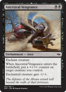 Ancestral Vengeance Magic Card
