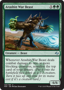 Arashin War Beast Magic Card