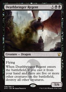 Deathbringer Regent Magic Card