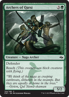 Archers of Qarsi Magic Card