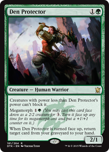 Den Protector Magic Card