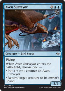 Aven Surveyor Magic Card