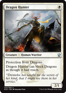 Dragon Hunter Magic Card