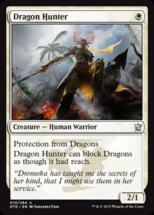Dragon Hunter Magic Card