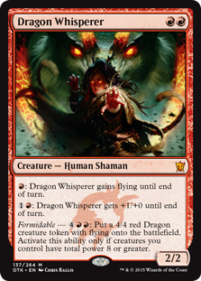 Dragon Whisperer Magic Card