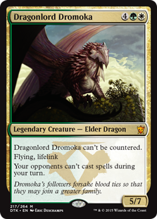 Dragonlord Dromoka Magic Card