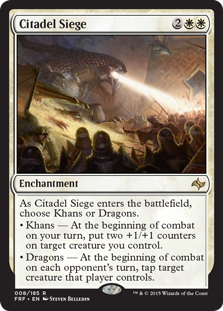 Citadel Siege Magic Card