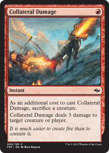 Collateral Damage Magic Card