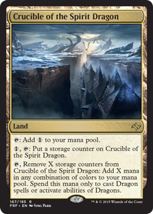 Crucible of the Spirit Dragon Magic Card