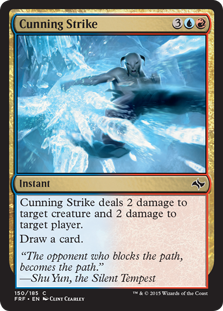 Cunning Strike Magic Card