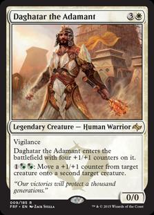 Daghatar the Adamant Magic Card