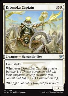 Dromoka Captain Magic Card