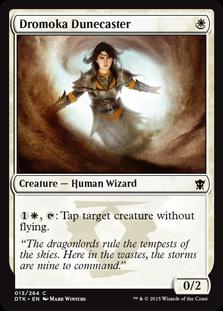 Dromoka Dunecaster Magic Card
