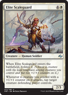 Elite Scaleguard Magic Card
