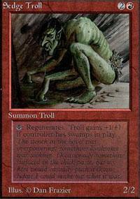Sedge Troll Magic Card