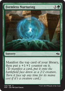 Formless Nurturing Magic Card