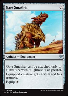 Gate Smasher Magic Card