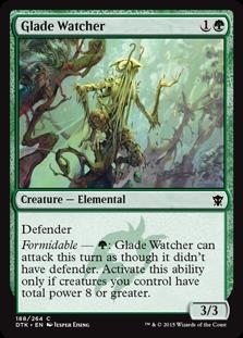 Glade Watcher Magic Card