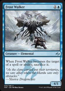 Frost Walker Magic Card