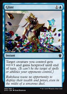 Glint Magic Card