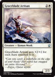 Graceblade Artisan Magic Card