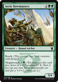 Aerie Bowmasters Magic Card