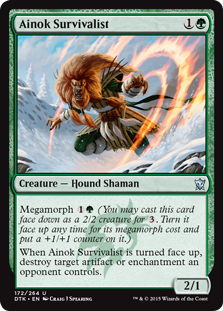 Ainok Survivalist Magic Card
