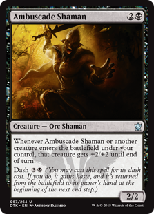 Ambuscade Shaman Magic Card